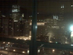 Sears tower out my window sized